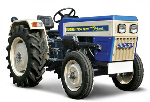 Swaraj 724 XM ORCHARD Tractor price Mileage specifications 2018
