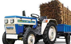 price of Swaraj 724 XM ORCHARD NT Narrow Track Tractor Haulage