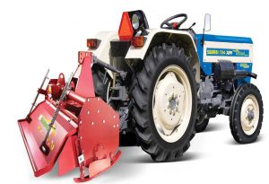 price of Swaraj 724 XM ORCHARD NT Narrow Track Tractor Rotavator