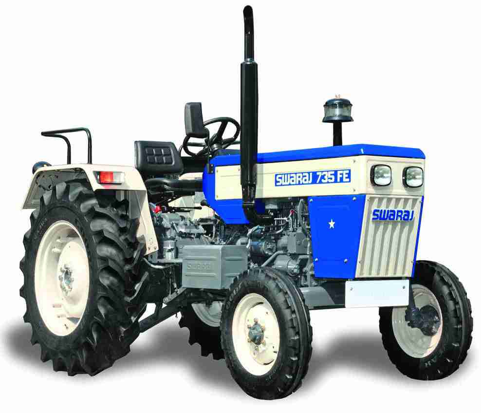 Swaraj 735 FE track tractor price specifications India